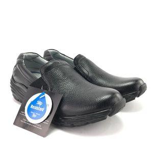 Nurse Mates Womens Harmony Black Slip On Shoes